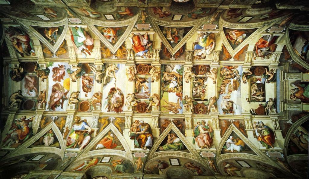 Cамые красивые потолки мира
